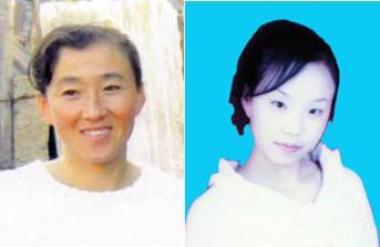 Лю Фэнбин и дочь Ван Дань