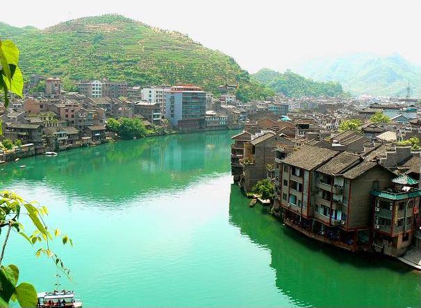 Древний поселок Чжэньюань. Фото: с likefar.com