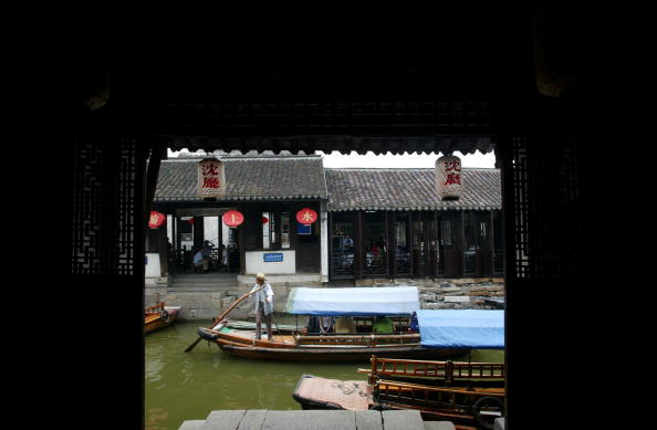 жоучжуан, древний посёлок на воде. Фото с chinataiwan.org