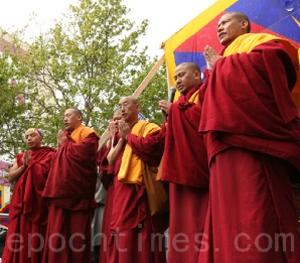 В Тибете не стихают протесты против диктатуры компартии. Фото: The Epoch Times