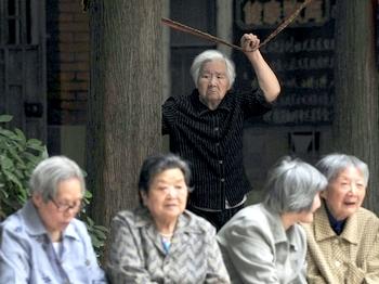 Итоги переписи населения в Китае: число пожилых людей увеличилось. Фото: Великая Эпоха (The Epoch Times)