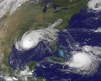 Тропический шторм «Сарика» бушует в Китае. Фото: AFP