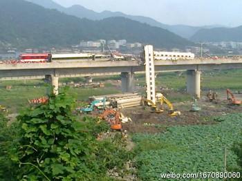 Железнодорожная авария. Район города Вэньчжоу. Июль 2011 год. Фото с epochtimes.com