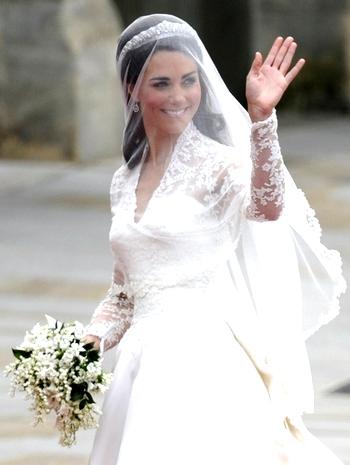 Купить свадебное платье от «Кэтрин Миддлтон»  можно в Китае. Фото:(AFP PHOTO/ODD ANDERSEN/Getty Images