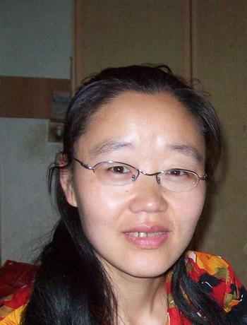 Се Хун, последовательница Фалуньгун, похищена полицией. Фото с minghui.org