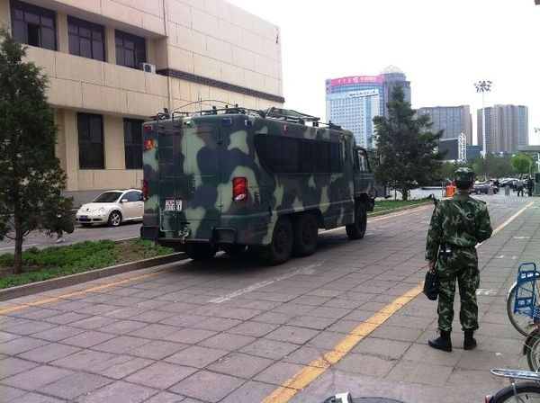 КНР ввела военное положение во Внутренней Монголии