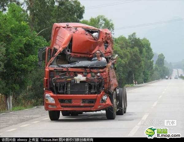 На дорогах Китая. Гуанси. Август 2011 год. Фото с kanzhongguo.com
