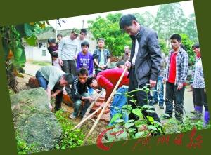 Сотни змей вдруг появились в деревне Гуантан провинции Гуандун. Фото с aboluowang.com