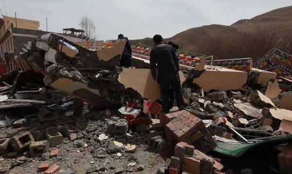 В Китае растет число жертв мощного землетрясения. Фото Великая Эпоха