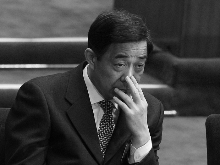 Бо Силай на заключительном заседании Народного политического консультативного совета Китая (НПКСК) в Большом народном зале, 13 марта 2012 года, Пекин. Фото: Lintao Zhang/Getty Images