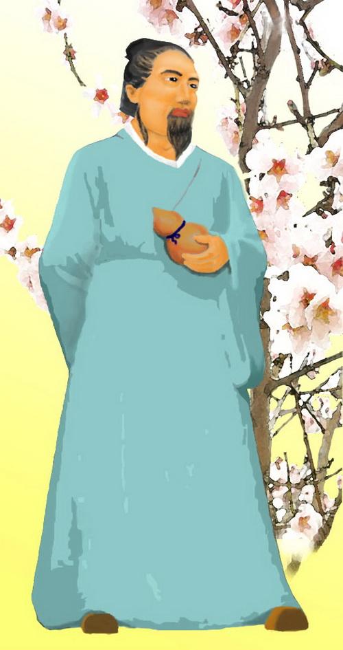 Дун Фэн - прародитель Абрикосового Леса. Иллюстрация: Джессика Чан