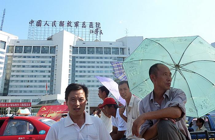 Военный госпиталь в Пекине, где лечатся китайские лидеры, июль 2011 года. Фото: Liu Jin/AFP/Getty Images