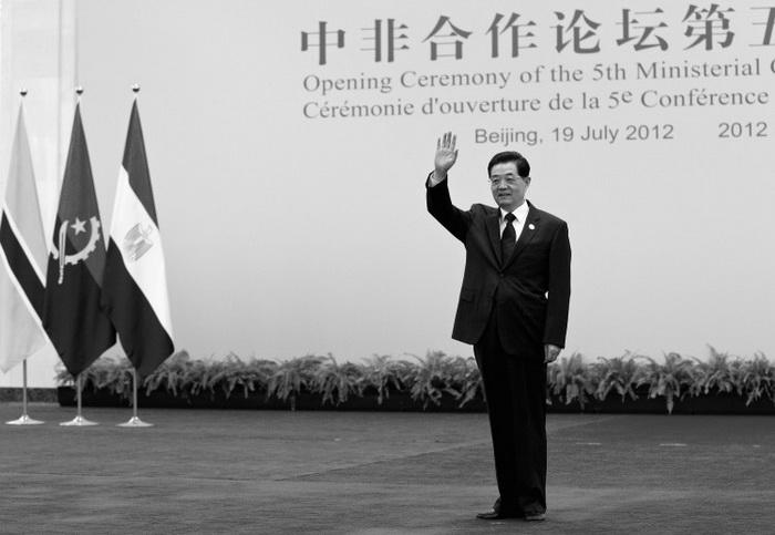 Лидер коммунистической партии Китая Ху Цзиньтао в Большом Народном Зале, 19 июля 2012 года, Пекин, Китай. Вероятно, Ху Цзиньтао на XVIII съезде партии в октябре этого года оставит все посты в партии. Фото: Andy Wong/Getty Images