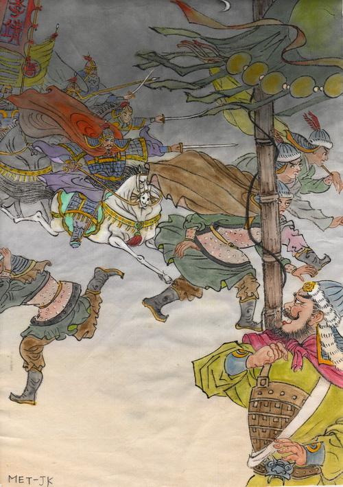 Ли Цзин – один из самых уважаемых генералов в династии Тан. Иллюстрация: Джейн Ку/Великая Эпоха (The Epoch Times)