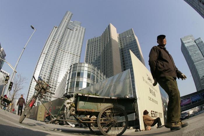 Новые офисные и жилые здания в Пекине, декабрь 2007 года. Эксперты скептически относятся к новому плану по стимулированию экономики Китая через увеличение расходов. Фото: Peter Parks/AFP/Getty Images