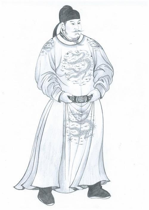 Император Тайцзун династии Тан — самый почитаемый император Китая. Иллюстрция: Юэань Фан