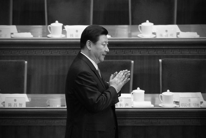 Следующий предполагаемый глава КПК Си Цзиньпин в Большом Народном Зале, 13 марта, Пекин. Фото: Lintao Zhang/Getty Images