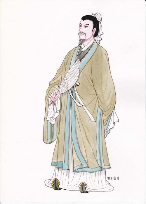 Чжугэ Лян — гений науки и стратегии. Иллюстрация: Блу Сяо/Великая Эпоха