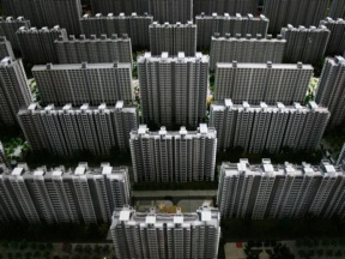 Миниатюрная модель жилого комплекса в Китае. Фото: Getty Images