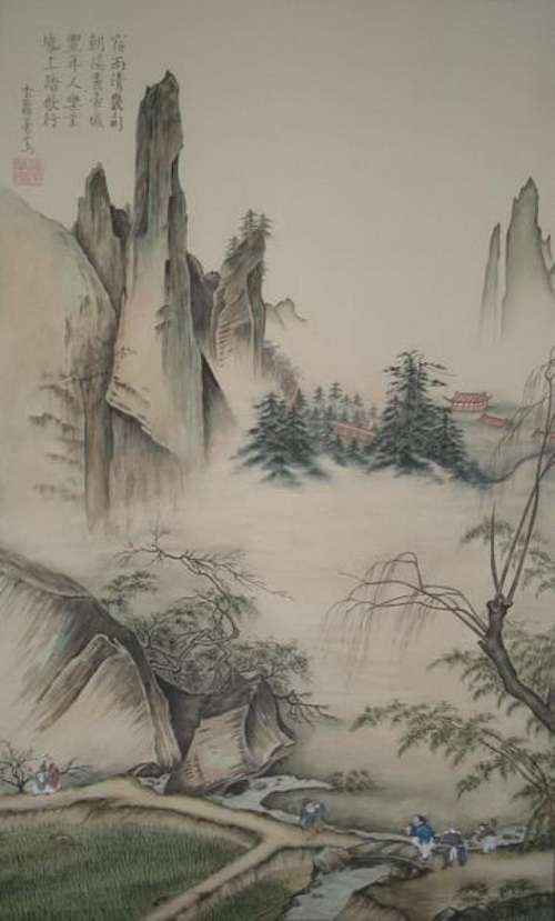 Картина Чжанг Цуйинг