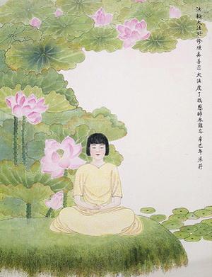 Женщины в Древнем Китае должны были обращать внимание на внешнюю красоту, но она преходяща. Намного важнее было поддерживать внутреннюю красоту. Картина Чжан Цуйин