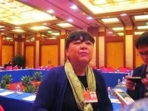 Начальник Пекинского национального музея Вань Пин. Фото с сайта mop.com