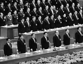 17-й Конгресс китайской коммунистической партии (КПК), 21 октября 2007г., Пекин. Малоизвестная Политико-юридическая комиссия стала вторым центром власти. Фото: Guang Niu/Getty Images