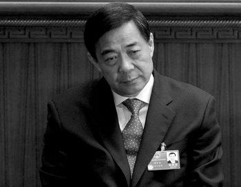 Бо Силай на съезде народных представителей в Большом народном зале, Пекин, 14 марта 2012 года. Вскоре, после попытки бегства Ван Лицзюня, Бо будет снят со своего поста и арестован. Фото: Марк RalstonAFP/Getty Images