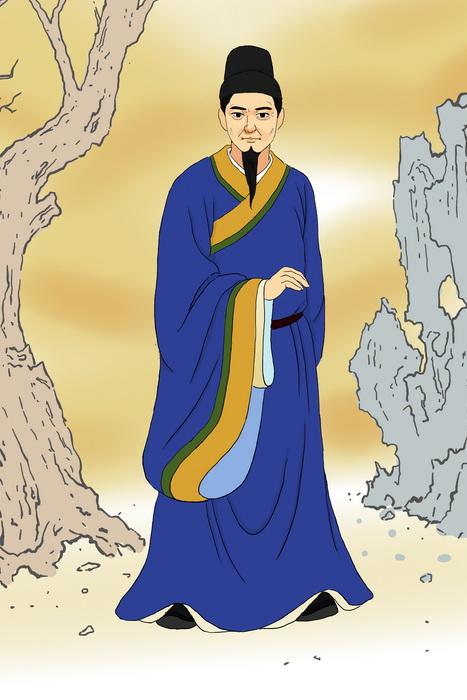 Хань Юй — родоначальник китайской классической прозы. Иллюстрация: Zhiching Chen/Великая Эпоха (Epoch Times)