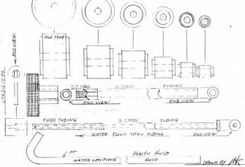 Сканированный чертёж части изобретения г-на Мидлбрука, которое может уменьшить загрязнение от сжигания топлива. Фото с сайта theepochtimes.com