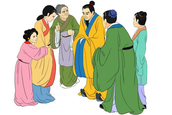 Лю Цзунюань — великий мастер прозы и мудрый чиновник династии Тан. Иллюстрация: Zhiching Chen/Великая Эпоха (The Epoch Times)