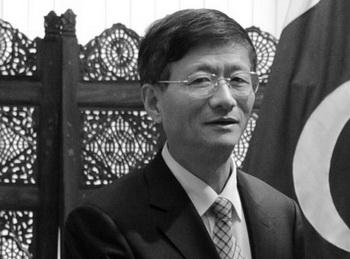 Глава китайской системы безопасности Мэн Цзяньчжу в сентябре 2011 года. Фото: Aamir Qureshi/AFP/Getty Images