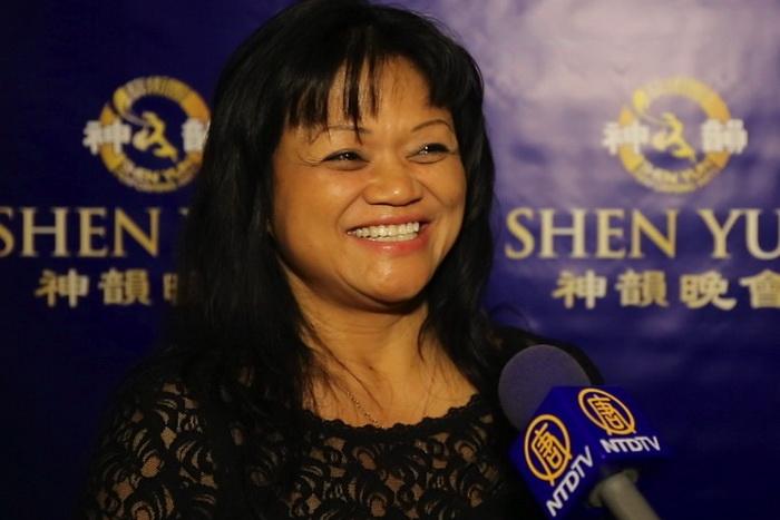 Кармен Ли Палиота побывала на представлении Shen Yun Performing Arts в центре Smith в Лас-Вегасе. Фото: NTD Television