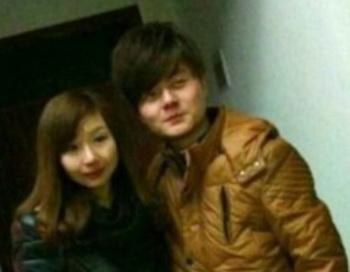 Юань Лия и её жених Пэн Сун. Фото: Weibo.com