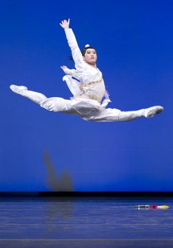 Джим Чень исполняет роль знаменитого генерала Хань Синя. Фото: Эдвард Дай/Великая Эпоха (The Epoch Times)