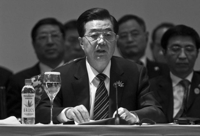 Китайский президент Ху Цзиньтао. Фото: Prakash Singh/AFP/Getty Images