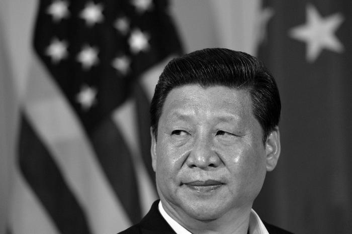 Лидер коммунистической партии Китая Си Цзиньпин на встрече с журналистами 7 июня, после общения с президентом Бараком Обамой. Фото: Jewel Samad/AFP/Getty Images