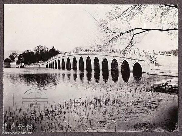 Парк Ихэюань в окрестностях Пекина. 1913 год. Китай. Фото: Франк Николас Мейер