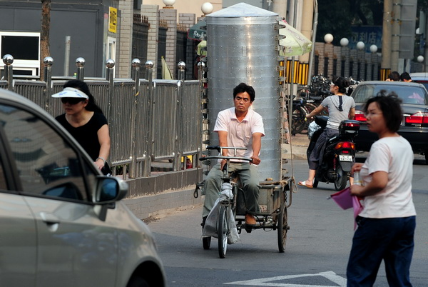Китайские зарисовки. На дорогах. Фото: FREDERIC J. BROWN/AFP/Getty Images