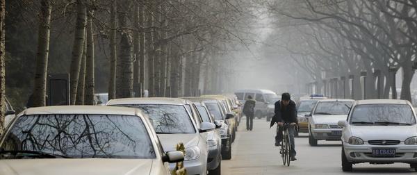 Китайские зарисовки. На дорогах. Фото: PETER PARKS/AFP/Getty Images