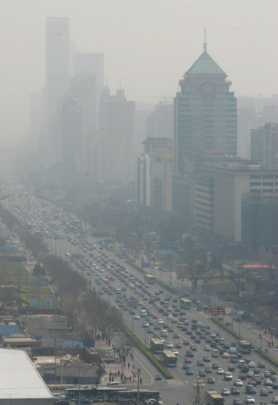 Китайские зарисовки. На дорогах. Фото: China Photos/Getty Images