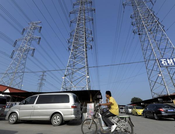 Китайские зарисовки. На дорогах. Фото: LIU JIN/AFP/Getty Images