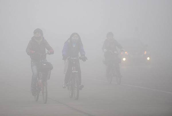 Китайские зарисовки. На дорогах. Фото: STR/AFP/Getty Images