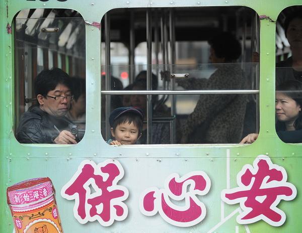 Китайские зарисовки. Фото: MIKE CLARKE/AFP/Getty Images