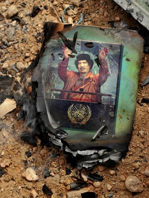 Пекин выразил «уважение» выбору ливийского народа в отношении режима Муамара Каддафи. Фото: ROBERTO SCHMIDT/AFP/Getty Images