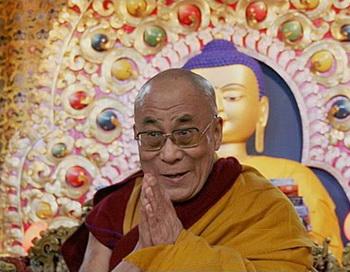 Власти Китая обвинили Далай-ламу в организации митингов протеста в Тибете.. Фото:goncharova.meitan.ru