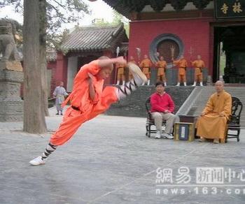 Китай. Монастырь Шаолинь. Фото: сайт: russian.cri.cn