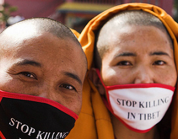 В Тибете снова совершены два акта самосожжения. Один человек скончался. Фото:vokrugsveta.ru/news