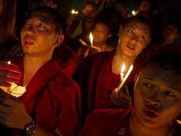 В Тибете совершено два новых акта самосожжения. Фото:profi-forex.org