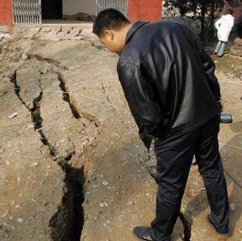 В Китае произошло землетрясение, есть жертвы. Фото:http://geolog.at.ua/news